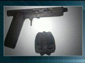 Adolescente é flagrado portando arma de fogo artesanal em Gurupi - Adolescente é flagrado portando arma de fogo artesanal em Gurupi