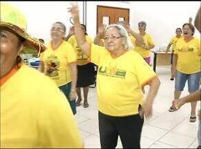 Idosos da Universidade da Maturidade de Araguaína revivem a alegria da festa junina - Idosos da Universidade da Maturidade de Araguaína revivem a alegria da festa junina