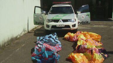 Polícia Ambiental de Pirassununga realiza operação para apreender balões - Prática configura crime previsto na Lei 9605/98 e pode render pena de detenção de um a três anos ou multa.