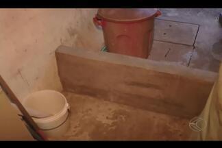 Moradores do Bairro Morumbi em Uberlândia sofrem com falta de drenagem pluvial - Problema na região existe há mais de 20 anos, diz moradores.Prefeitura não tem investimentos previstos para resolver a situação.
