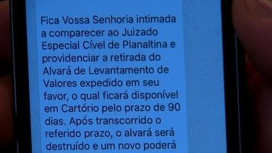 Juizado do Guará começa a mandar primeira intimações por WhatsApp - Em Planaltina, a novidade já está dando certo.