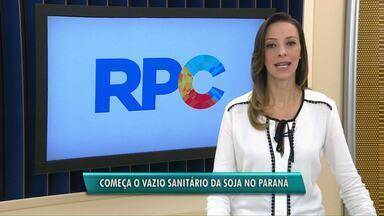 Começa o vazio sanitário da soja no Paraná - Até o dia 15 de setembro o plantio do grão está proibido no estado.