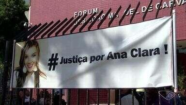 Justiça decide se PM acusado de matar namorada vai a júri popular - Testemunhas são ouvidas para que seja decidido como ele será julgado.Ana Clara Cabral Félix morreu com cinco tiros na Rodovia do Contorno.