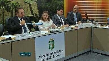 Juízes Cearenses pedem na Assembleia Legislativa mais dinheiro para o Judiciário - O orçamento do judiciário é o menor do País.