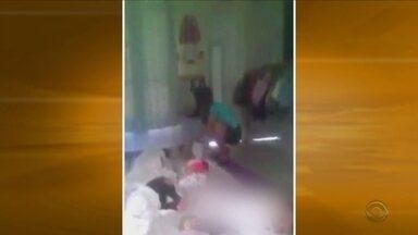 Professora é investigada por maus tratos em creche de São José do Cedro - Professora é investigada por maus tratos em creche de São José do Cedro