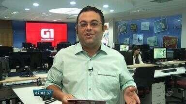 Confira os destaques do G1 com o jornalista Gioras Xerez - Comece o dia sempre bem informado.
