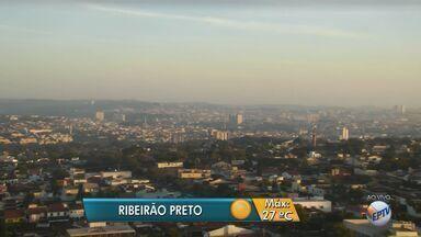 Previsão é de frio nesta terça-feira (21) na região de Ribeirão Preto, SP - Meteorologistas preveem temperatura máxima de 27ºC.