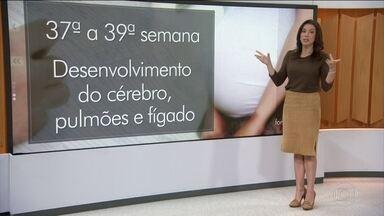 Mães só vão poder fazer cesariana a partir da 39ª semana da gestação - As mães só vão poder escolher a cesariana no lugar de parto normal, a partir da 39ª semana de gravidez. A nova regra vale para os hospitais públicos e particulares.