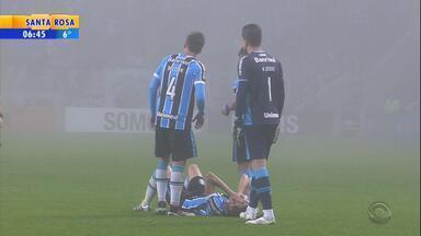 Grêmio tem quatro jogadores com problemas musculares - Desfalques podem prejudicar campanha do tricolor.