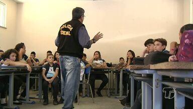 Palestras de prevenção ao uso de drogas são realizadas em escolas de Santarém - No dia 26 de junho é comemorado o Dia Internacional de Combate às Drogas.