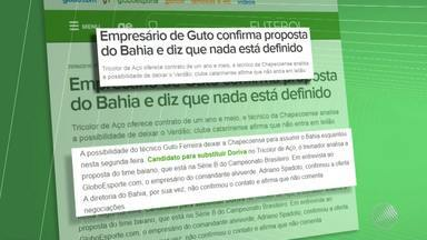 Bahia faz proposta a técnico do Chapecoense - Confira as notícias do tricolor baiano.