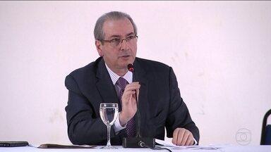 Jaques Wagner ofereceu apoio do PT no Conselho de Ética, diz Cunha - Oferta valeria se ele não aceitasse impeachment de Dilma. Eduardo Cunha reafirmou que não mentiu na CPI da Petrobras.