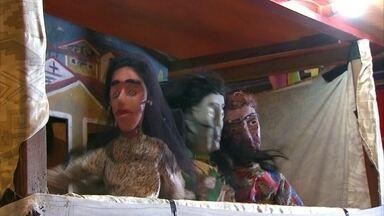 Em Carpina, São João é animado por brincadeiras populares - Teatro de mamulengos é uma das atrações na cidade