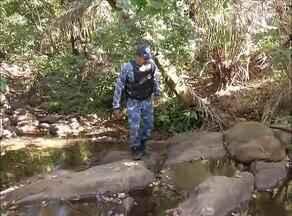Guarda ambiental realiza operação para fiscalizar um dos córregos que abastecem Palmas - Guarda ambiental realiza operação para fiscalizar um dos córregos que abastecem Palmas