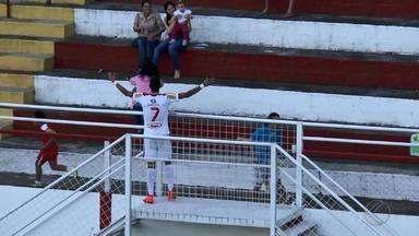 Daniel Amorim comemora fim de jejum e artilharia do Tombense - Atacante é o artilheiro da equipe na Série B do Campeonato Brasileiro. Time entra em campo neste domingo, às 11h, contra o Guaratinguetá, em Limeira.