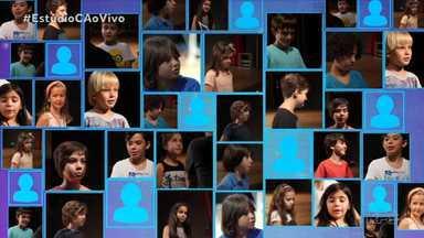Em Cena - O Estúdio C acompanhou os testes para escolher duas crianças para participar do elenco da peça O Pequeno Príncipe
