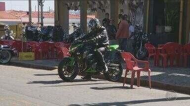 Riscos de acidentes de moto aumentam no fim de semana na região - Os motociclistas são as vítimas mais vulneráveis do trânsito na região.