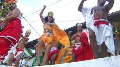 Cerimônia homenageia Xangô no Recife - Mês de junho é dedicado ao Orixá