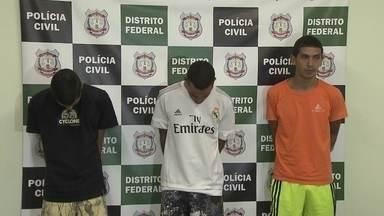 Polícia prende quadrilha que atirava pelas ruas de Planaltina - Em dez dias, o grupo matou quatro pessoas. Nenhuma das vítimas tinha passagem pela polícia ou richa com os autores dos crimes.