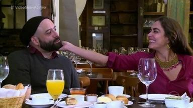Carol Machado e Rodrigo Penna têm 'Reencontro Marcado' - Atores estrearam na TV há 27 anos na novela 'Top Model'