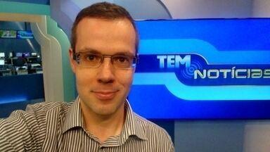 Confira os destaques do Tem Notícias 1ª edição da região noroeste paulista - O apresentador João Spode traz os destaques do Tem Notícias 1ª edição desta segunda-feira (4).