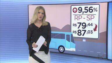Valor das passagens intermunicipais aumenta na terça-feira (5) - Segundo a Artesp, reajuste será de 9,56%.