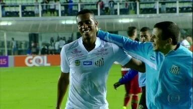Copete faz excelente partida e Santos vence a Chapecoense por 3 a 0 - Copete faz excelente partida e Santos vence a Chapecoense por 3 a 0