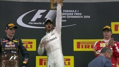 Rosberg vacila no fim e chega em quarto, Hamilton vence no GP da Áustria - Rosberg vacila no fim e chega em quarto, Hamilton vence no GP da Áustria