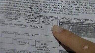 Motorista recebe multa dois anos após a infração - Homem cobra suspensão da multa.
