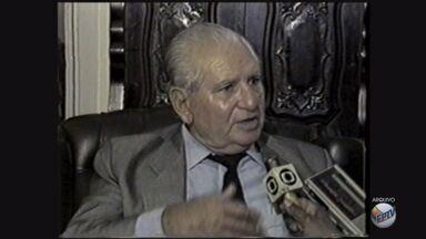 Rondon Pacheco morre em Uberlândia (MG) aos 96 anos - Rondon Pacheco morre em Uberlândia (MG) aos 96 anos