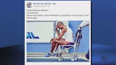 Giovani dos Santos sofre estiramento e fica fora da Olimpíada nos 10.000m - Giovani dos Santos sofre estiramento e fica fora da Olimpíada nos 10.000m
