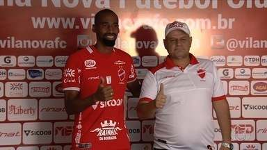 Vila apresenta Guilherme Teixeira, que já estreia contra o Bahia - Zagueiro é uma das novidades do Tigre para jogo desta terça-feira