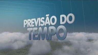 Previsão do tempo tem mínima de 14°C na região - Temperatura máxima chega a 27°C em Campinas (SP).