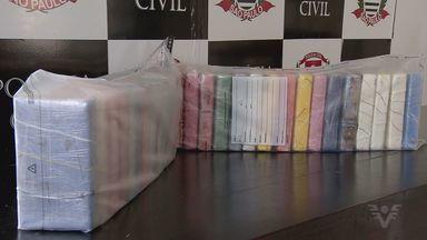 Polícia prende condenado pela Justiça com mais de 30 kg de cocaína em Cubatão - Agentes chegaram ao acusado após investigar sobre roubos às margens de rodovias.