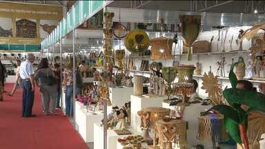 Artesãos comemoram aumento de vendas no Salão de Artesanato em Campina Grande - Em apenas 17 dias, quase 60 mil produtos foram vendidos.
