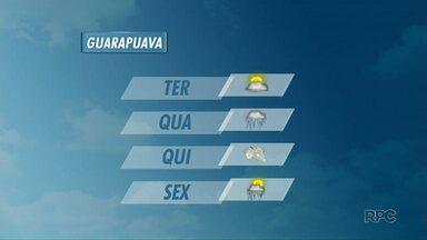 Semana começou quente mas deve esfriar ao longo dos próximos dias - Em Guarapuava, deve gear na quinta. Calorzinho se despede nessa terça e próximos dias devem ter frio e chuva.