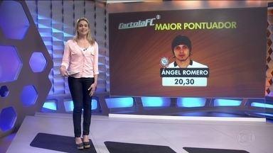 Romero é o maior pontuador do Cartola F.C na 13ª rodada do Brasileirão - O jogador somou 20.30 pontos.
