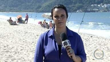 Venda de mexilhões foi suspensa pela Cetesb em Caraguá - Alga tóxica foi encontrada em duas praias da cidade.