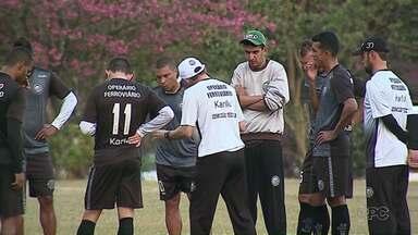 Operário está no Pará, onde enfrenta o Paysandú pela Copa do Brasil - Jogo é amanhã.