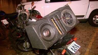Piloto é preso ao ser abordado com moto com placas adulteradas - Moto tinha sido roubada em Santa Helena.