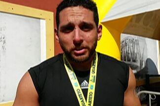 Guilherme Filipin participa da Maratona de Revezamento - Antes de retonar aos treinos, ala do Mogi Basquete correu a Maratona de revezamento com os familiares.