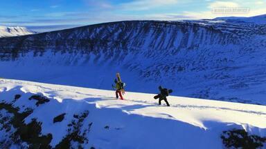 Snowboard No Ártico