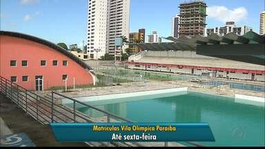Matrículas abertas para atividades físicas no Dede e cursos no Cearte em João Pessoa - Saiba quais são as exigências para se fazer as matrículas.
