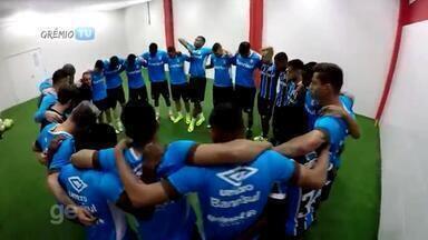 Confira os bastidores da vitória do Grêmio no Gre-Nal 410 - Confira os bastidores da vitória do Grêmio no Gre-Nal 410.