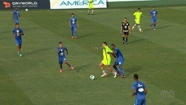 Goiás perde para o Grêmio Anápolis em jogo-treino na Serrinha - Com os reservas, time esmeraldino leva virada para equipe que disputará a Divisão de Acesso do Campeonato Goiano. Zagueiro minimiza resultado.