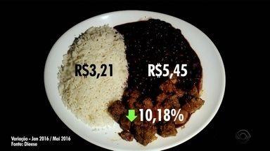 Consumidores catarinenses tentam driblar o aumento no preço de alimentos - Consumidores catarinenses tentam driblar o aumento no preço de alimentos