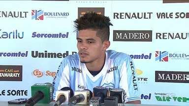 Lateral retorna ao Londrina para disputar Série B - Lucas Ramon já está treinando com o elenco do Tubarão.