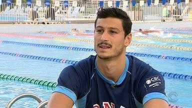 Nadador gaúcho batalha por medalha na Olimpíada 2016 - André Pereira faz parte da equipe de revezamento que representará o Brasil.