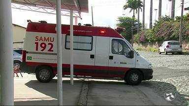 Funcionários do Samu de Caruaru reclamam da falta de ambulâncias - Médicos reclamam de atraso nos salários.