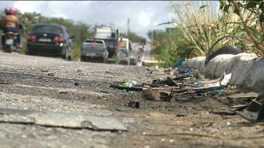 Mais de 300 acidentes envolvendo motos já foram registrados na Paraíba só este ano - Os dados são da Polícia Rodoviária Federal e mostram que a imprudência no trânsito continua sendo uma das principais causas de acidentes nas estradas.